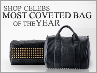 ALEXA STUDDED CALFSKIN LEATHER BAG