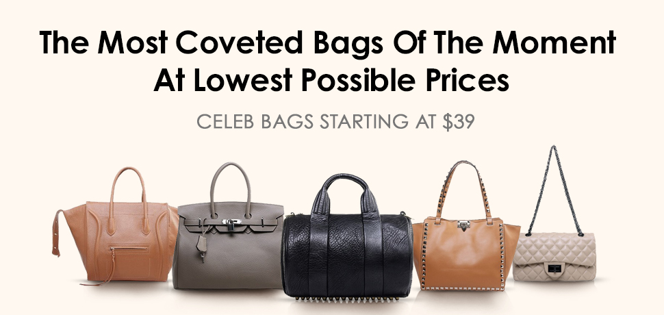 Hottet Celebrity Inspired Must have Bags