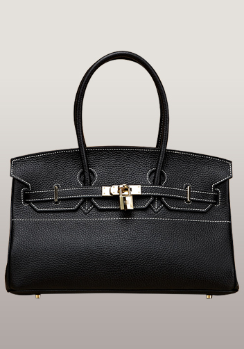 The Essential Jane Horizontal Bag Leather Black