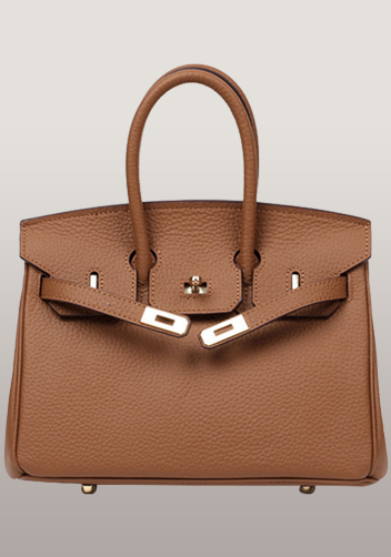 The Essential Jane Small Leather Bag Brown
