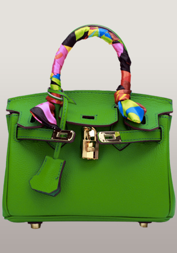 The Essential Jane Small Leather Bag Grass Green