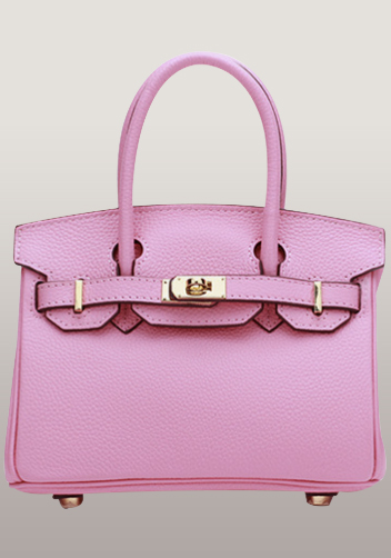 The Essential Jane Small Leather Bag Pink