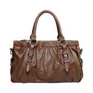Julie Leather Bag Khaki