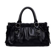 Julie Leather Bag Black