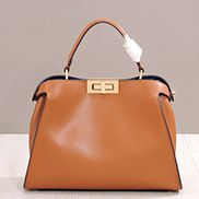 Carrie Leather Bag Camel
