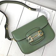 Alicia Leather Shoulder Bag Green