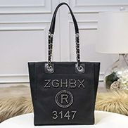 Alison Beach Shopping Small Tote Black