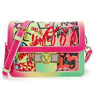 Ariadna Shoulder Bag Vegan Leather Graffiti