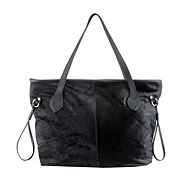 Never Full Horsefur Tote Black
