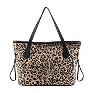 Never Full Leopard Tote