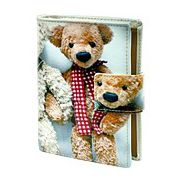 Teddy Bear Brothers Compact Wallet