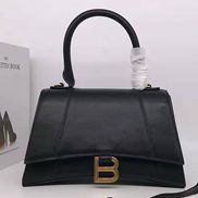 Bonnie Leather Shoulder Bag Black