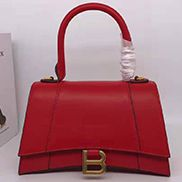 Bonnie Leather Shoulder Bag Red