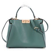 Carrie Leather Bag Green