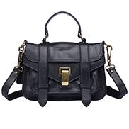 The Most Coveted Small Bag for Years Leather Black