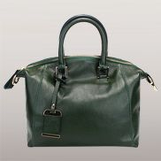Colleen Leather Shoulder Bag Green