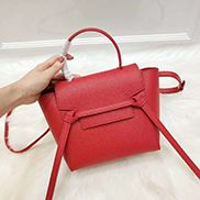 Debbie Top Handle Nano Bag Red