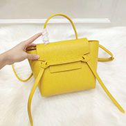 Debbie Top Handle Nano Bag Yellow