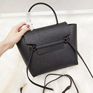 Debbie Top Handle Nano Bag Black