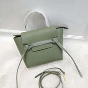 Debbie Top Handle Nano Bag Dark Green