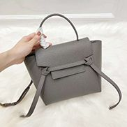 Debbie Top Handle Nano Bag Grey