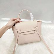Debbie Top Handle Nano Bag Light Pink