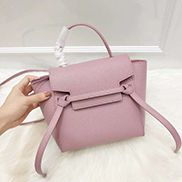 Debbie Top Handle Nano Bag Pink