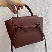 Debbie Top Handle Mini Bag Burgundy