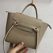 Debbie Top Handle Mini Bag Grey