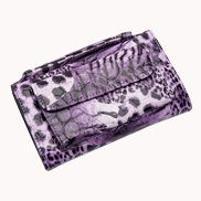 Elizabeth Patent Leather Clutch Wallet Puple