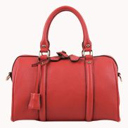 Erica Leather Bag Red