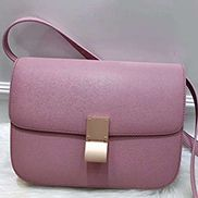 Martha Classic Leather Bag Pink