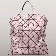Monica Faux Leather Tote Pink
