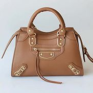 The Route 66 Faux Leather Medium Tote Brown