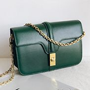 Shimanne Leather Shoulder Bag Green