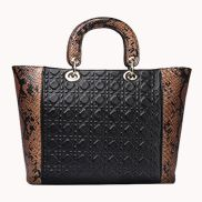 Shannon Leather Tote Bag Brown