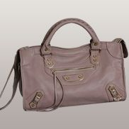 The Route 66 Faux Leather Large Bag Pink