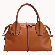 Glamorous Weekender Bag Leather Brown