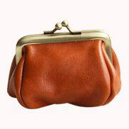 Vintage Frame Coin Purse Orange