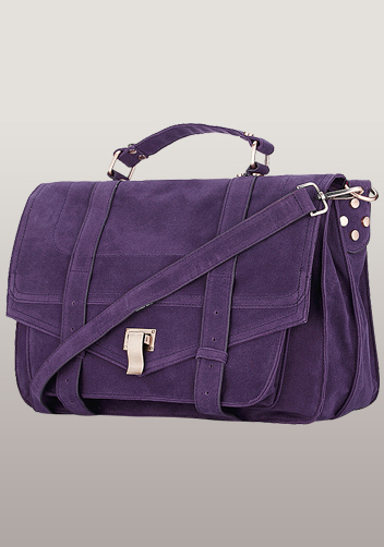 The Most Coveted Bag for Years Matte Velvet Purple