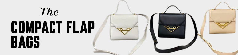 The Compact Flap Bags